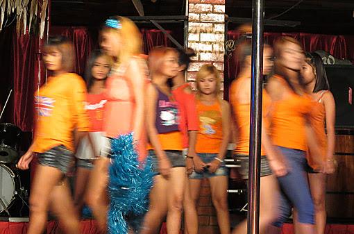 Sexy fashion show at Zero Zone
