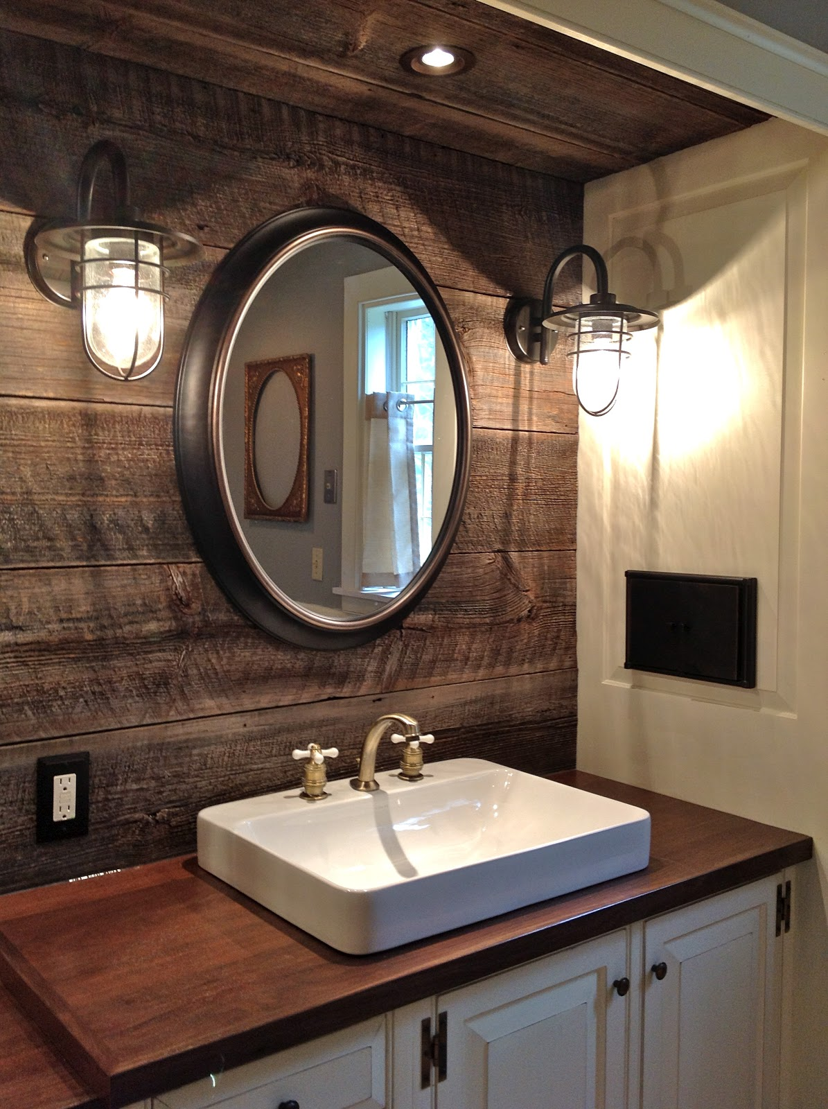 Overstock Farmhouse Sink Route 2 Rural Farmhouse Bathroom Remodel Done