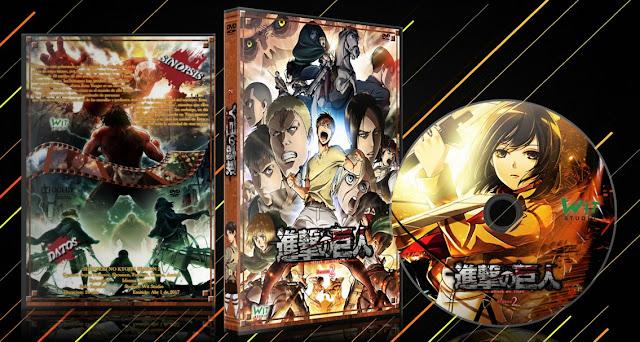 Shingeki no Kyojin SEASON 2 | Cover DVD |