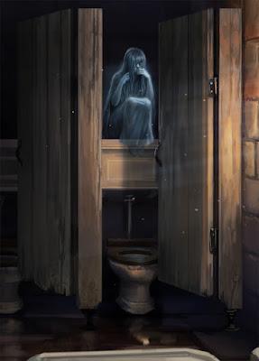 Il bagno di Mirtilla Malcontenta - Mirtilla Malcontenta in dettaglio (Momento 2)