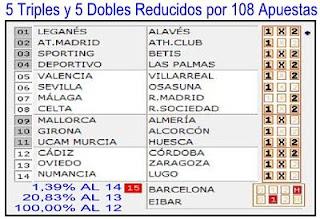 REDUCIDAS AL 13