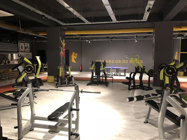 Çağdaş Spor salonu