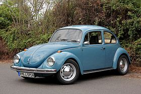 Original VW Bug -- Volkswagen Type I or Beetle