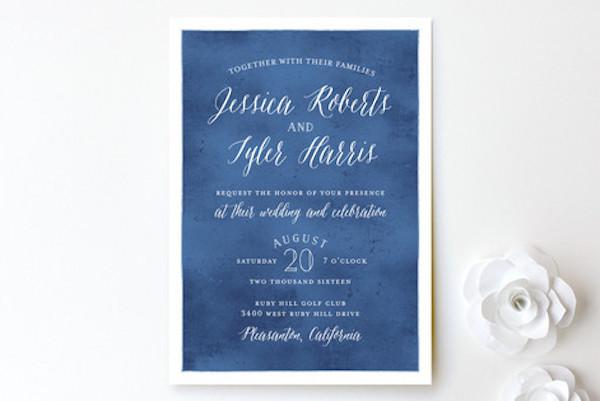 Modern Beach Wedding Invitations \u2022 ashdownandbee