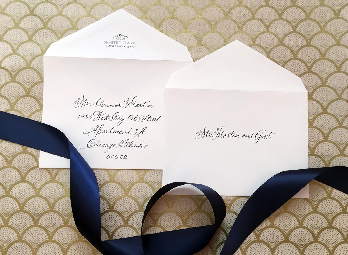 wedding invitation etiquette inner and wedding invitation envelopes Wedding Invitation Etiquette Inner and Outer Envelopes