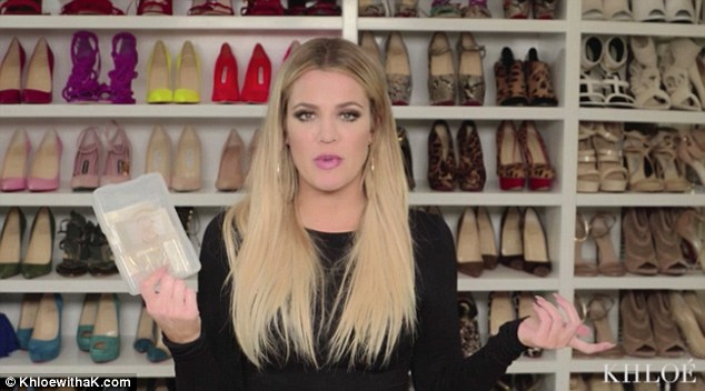 Keeping Up With The Kardashian Star Khloe Sure Loves ShoesThe 31 Year Old Took Viewers Of Her App Inside Shoe Closet To Show Them Some