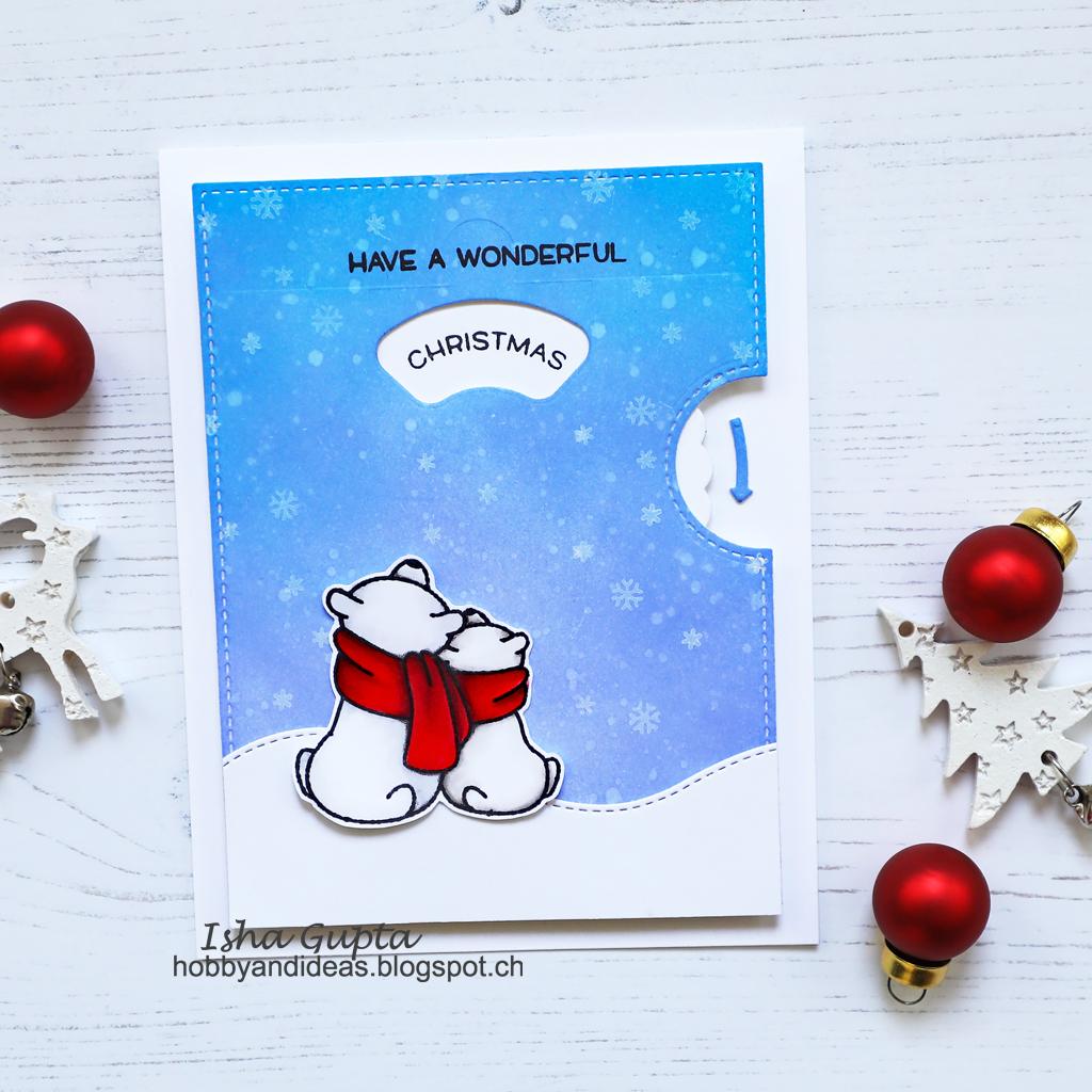 SCRAPHOUSE INSPIRATION BLOG: Isha - Interactive Christmas Cards