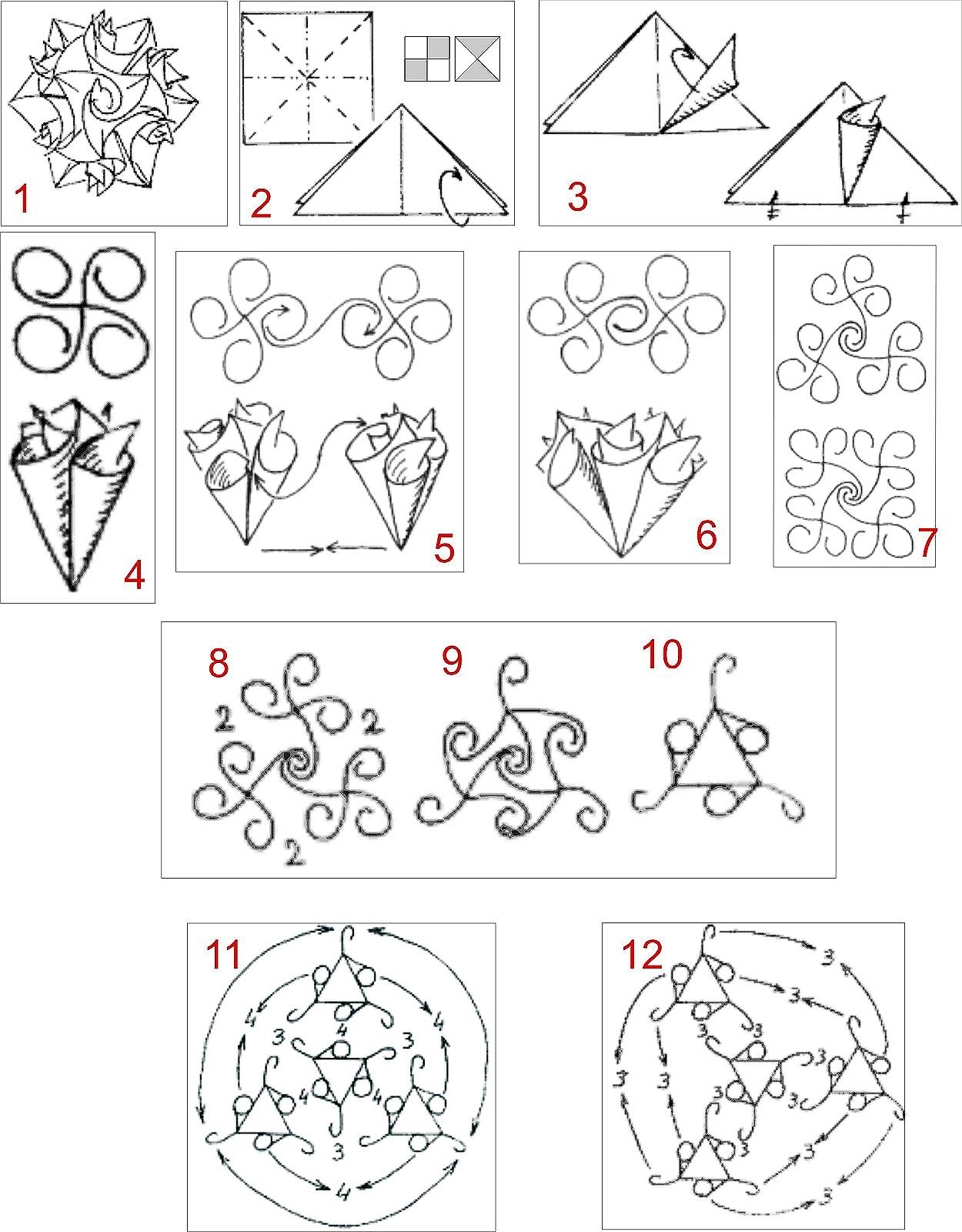Oficina Do Origami Kusudama Curler
