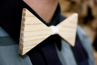 Moño hecho de madera