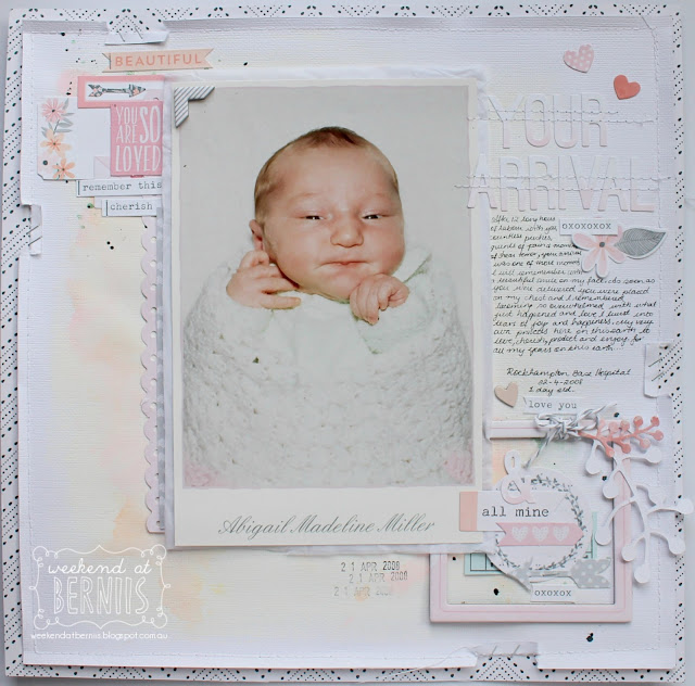 """ Picture Perfect"" layout by Bernii Miller using Cocoa Vanilla Studio - Love Actually collection."