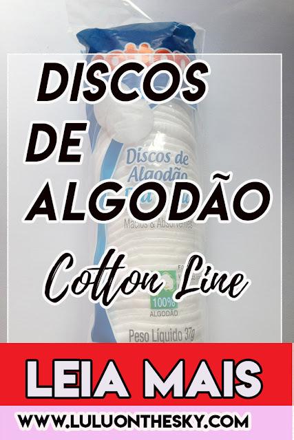 Cotton Line Discos de Algodão