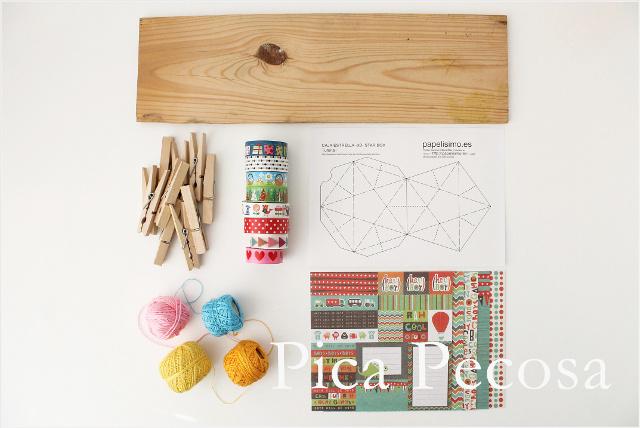 como-hacer-calendario-adviento-diy-reciclado-pinzas-ropa-cajas-papel-estrella-washi-tape-materiales