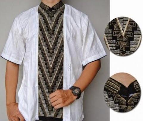 model baju koko batik