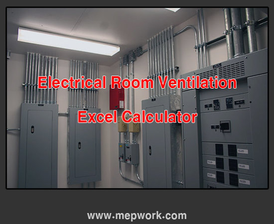 free spreadsheet for calculating fan capacity for ventilation of electrical rooms