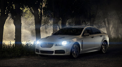 Jaguar XFR forest version