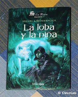 Ejemplar de AL loba y la niña para la iniciativa Libros a contrarreembolso