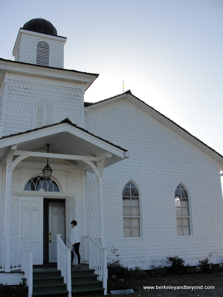 exterior of church at Whitney Plantation in Wallace, Louisiana
