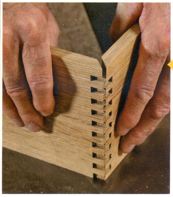 Wisdom of the Hands: Making Mitered Box Joints.