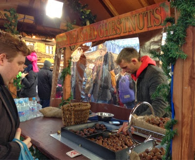 What's on in the North East for kids | Our Top Recommendations for Christmas 2016 - Chestnuts from Hyde Park Winter Wonderland
