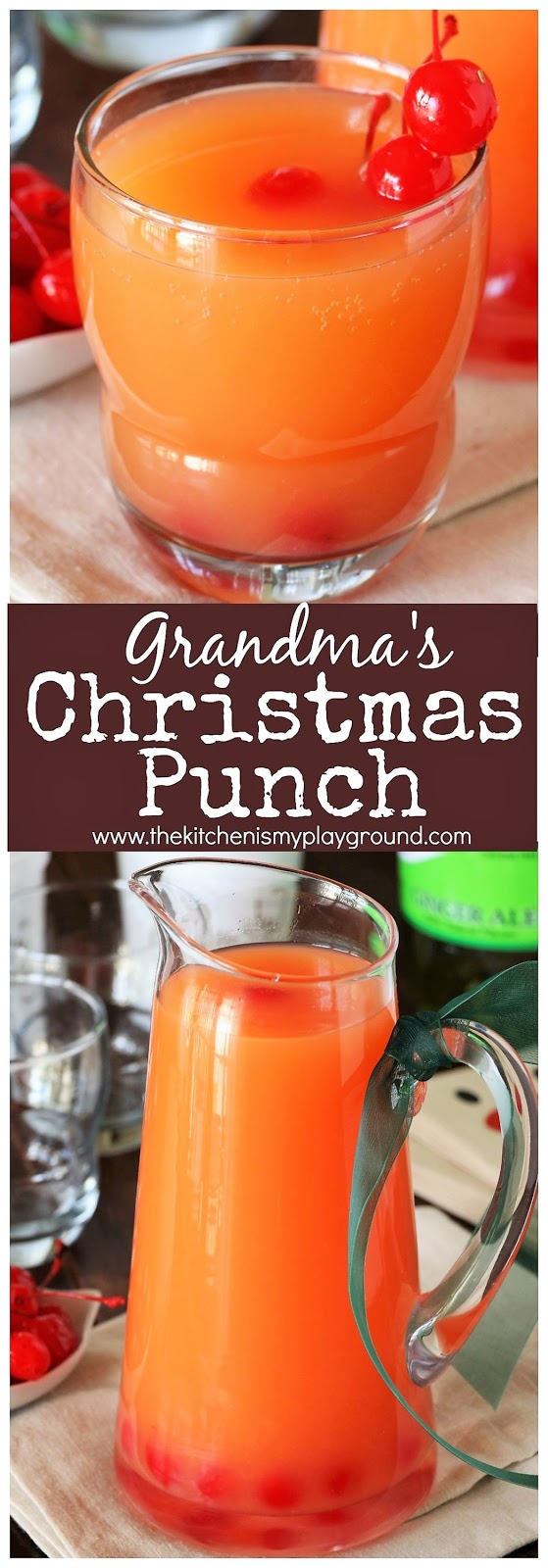 Grandmas Christmas Punch The Kitchen Is My Playground