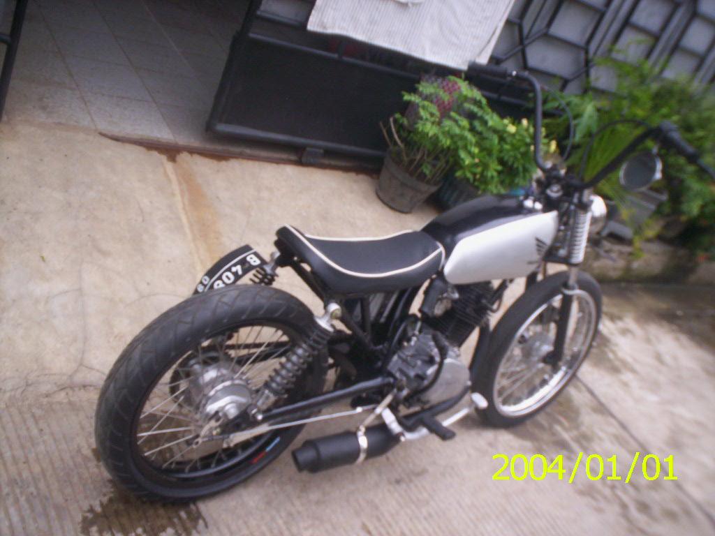DiJual Honda CB Modifikasi Jap Style Classic And Vintage