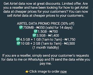 Cheap Airtel data
