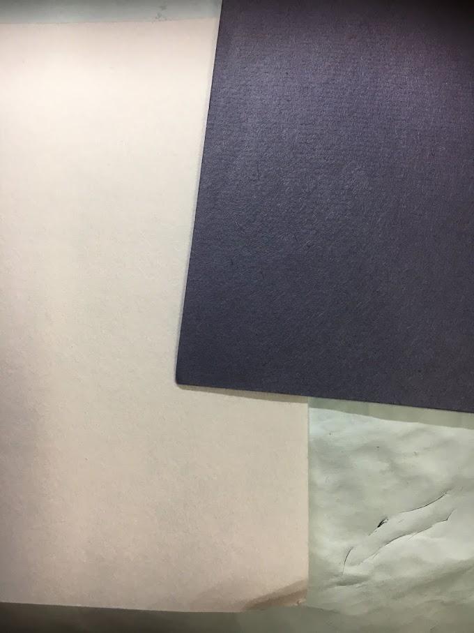 【切り絵のコツ】切り絵に色紙を貼る時、美しく仕上げるための色つけの順番とは?