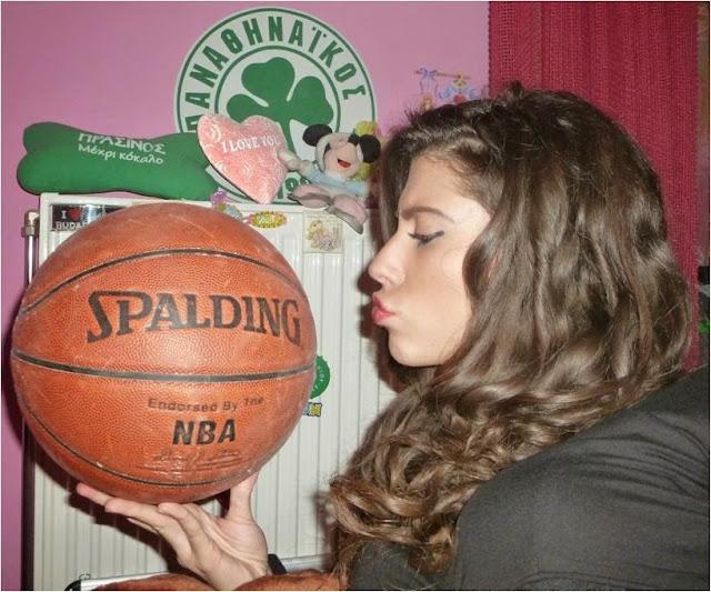 Κατερίνα Μέρτζη: Το κορίτσι που αγαπάει το μπάσκετ και τον Παναθηναϊκό! (pics)