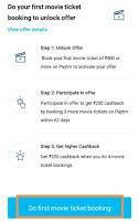 paytm movie rs 200  cashback offer