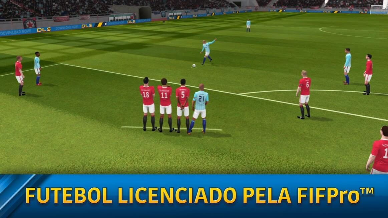 Dream League Soccer 2019 DINHEIRO INFINITO apk mod 6.13