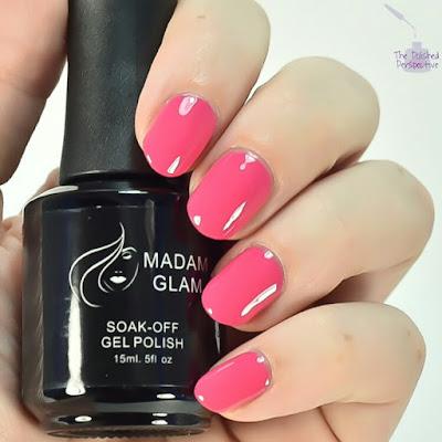 madam glam think pink swatch