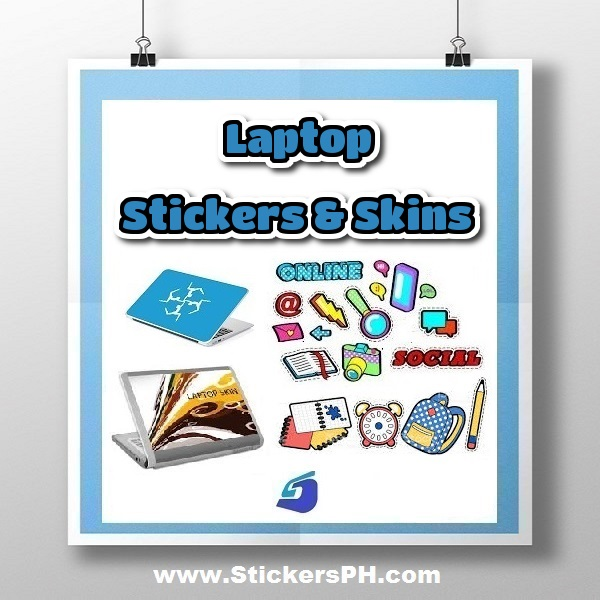 Custom laptop stickers skins decals