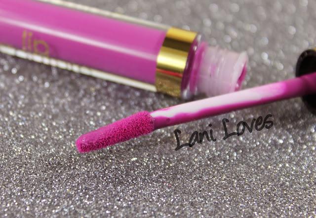 LA Splash Lip Couture - Hidden Desires Swatches & Review