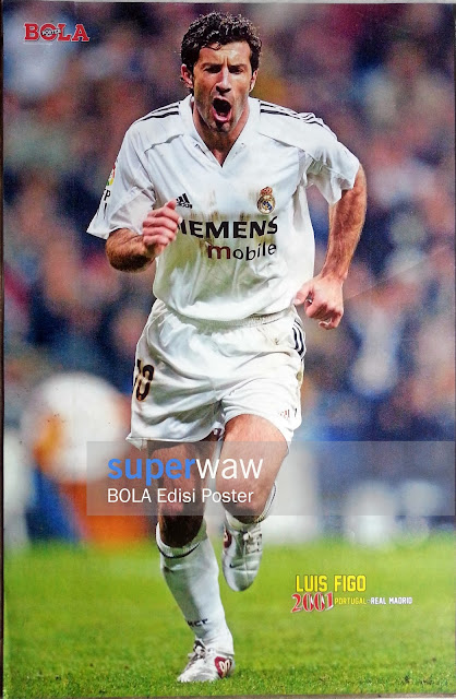 Poster Luis Figo Real Madrid 2002