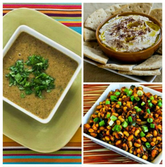 Black-Eyed Peas Recipes for Good Luck in the New Year! [found on KalynsKitchen.com]