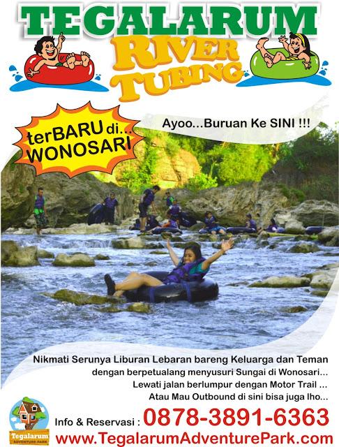 gambar wisata river tubing di Tegalarum