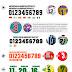 A tipografia das camisas nas Copas do Mundo - Parte 01