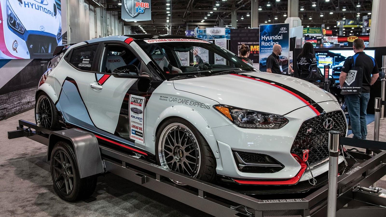 Hyundai Veloster Turbo Customs And Performance Parts Sema 2018