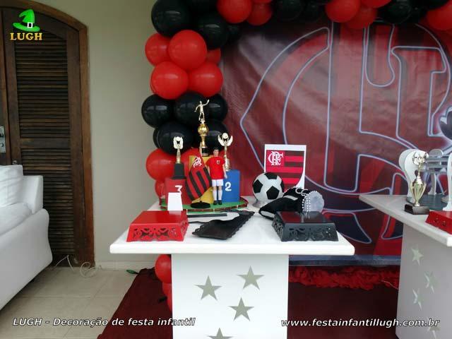 Flamengo, mesa temática de aniversário