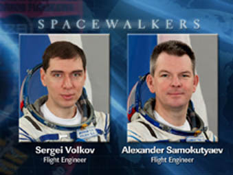 Russian Spacewalkers