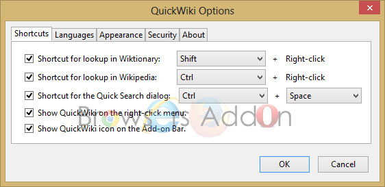 quickwiki_shortcuts_options