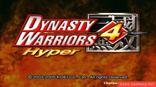 Dynasty Warrior 4 Hyper PC Download Free
