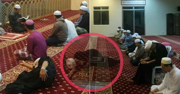 Subhanallah! Kisah Menyayat Hati :Seorang Insan Seni Yang Sanggup Mengesot Ke Masjid Untuk Solat Subuh Berjemaah