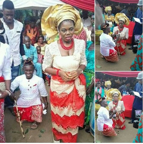 Aww! See the special wedding that shook Akwa Ibom last Saturday