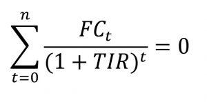calcular rentabilidade tir