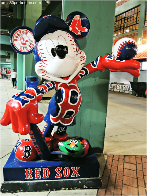 Mikey Mouse Boston Red Sox