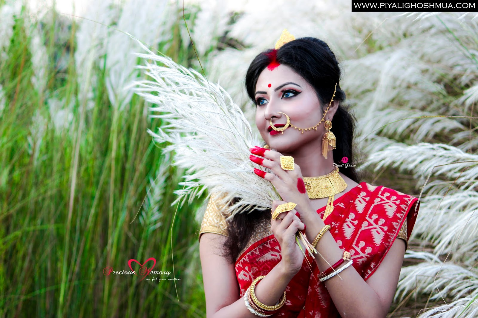 Best Makeup Artist In Kolkata- Piyali Ghosh -sarodiar subhechha