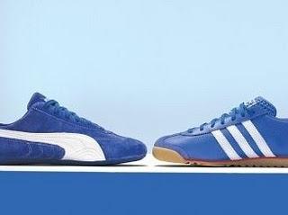 cefd58264 ... 1948 Puma y un año después Adolf registró Adidas