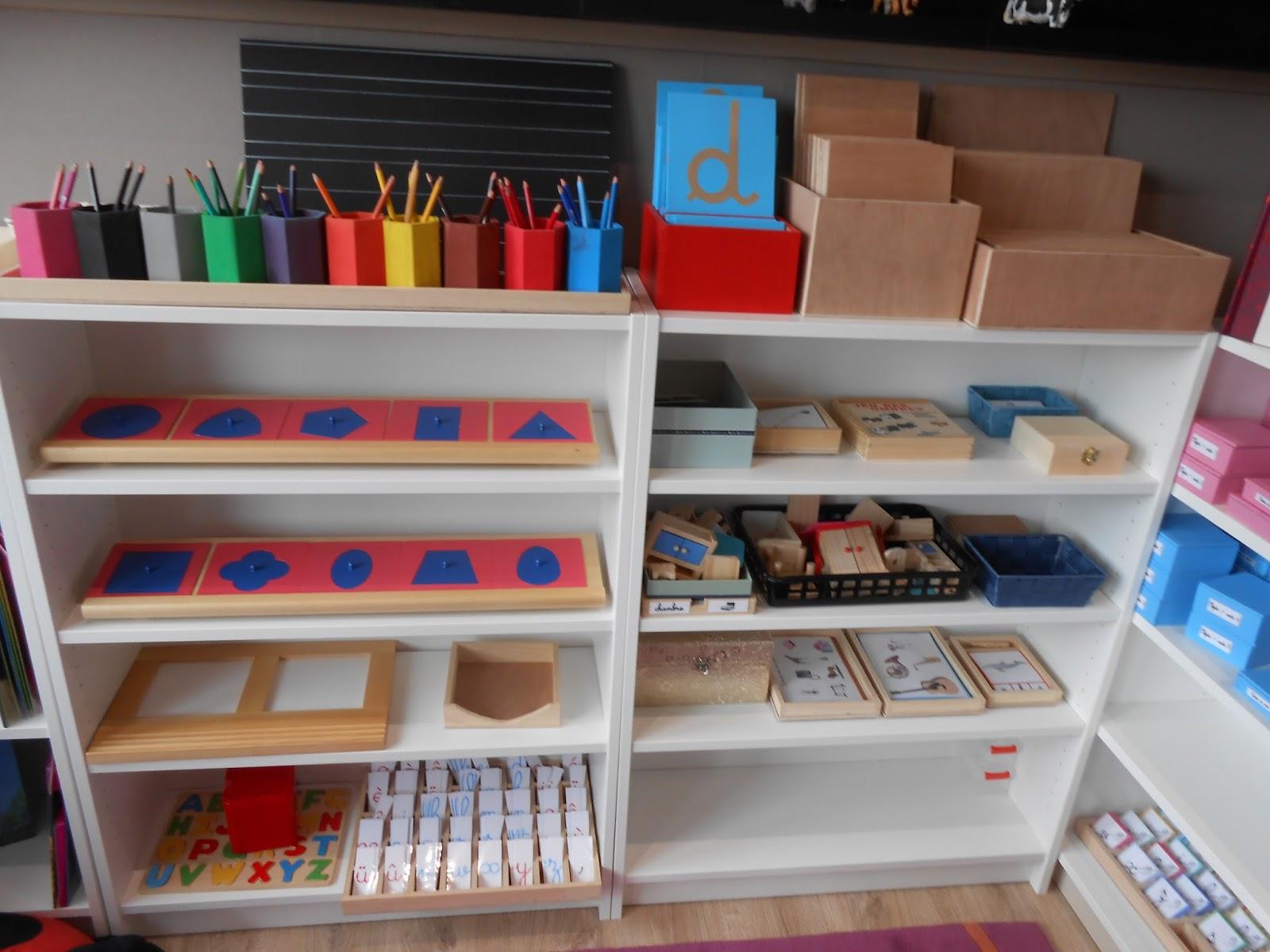 Bevorzugt Graine de Montessori: l'ambiance 3-6 ans DT03