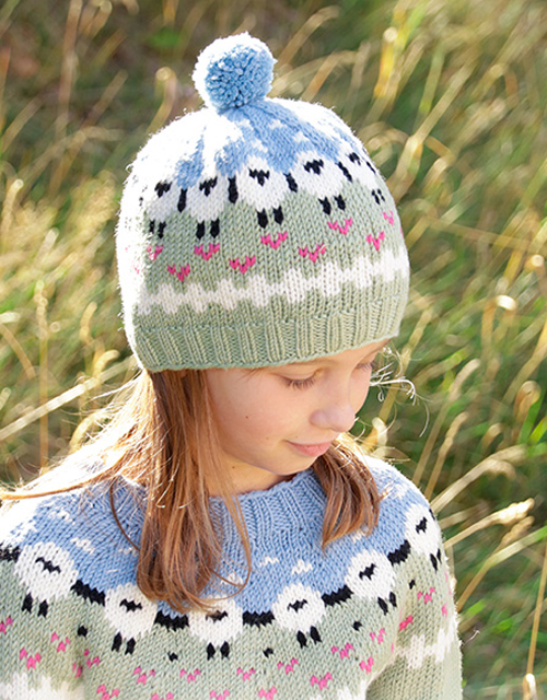 Lamb Dance Hat - Free Pattern